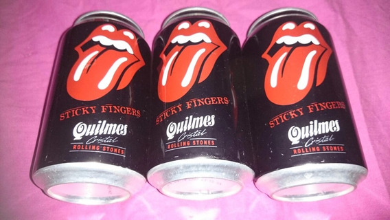 Lote - 3 Latas Quilmes - Rolling Stone - Llenas