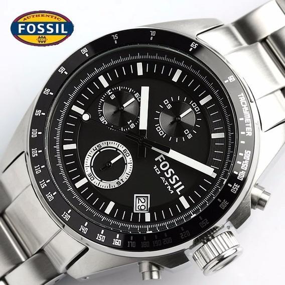 Relógio Fossil Ch2600 10 Atm Cronografo Importado Ac Trocas