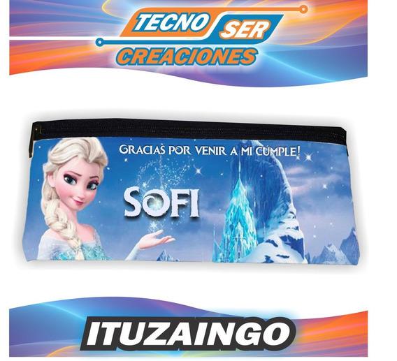 Cartucheras Frozen Impresa 2 Caras Personaliz Souvenir