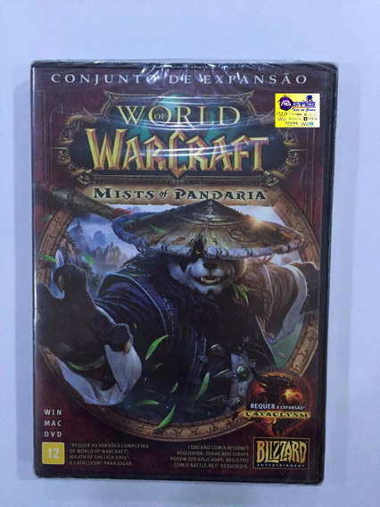World Of Warcraft: Conjunto De Expansão Pc Lacrado Ab Games