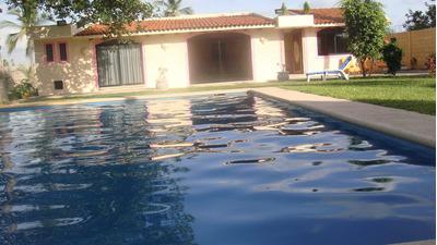 Para Mas De 20 Personas Rento Casa Con Alberca En Acapulco P