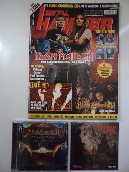 Revista Metal Hammer Alemã - 2010 (ver Anúncio)