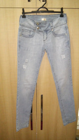 Calça Jeans Feminina Marcia Melo Nº 38