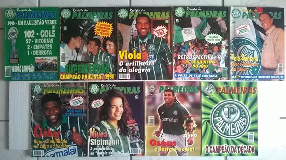 Coleção Revistas Do Palmeiras Dos Anos De 1996 E 1997