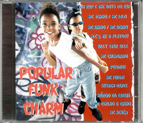Cd Popular Funk Charme 1997 Big Rap Mc Tonho Mc Pixote Neném