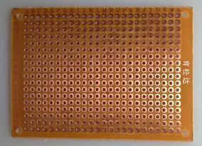 Placa Perfurada Fenolite Circuito Impresso 5 X 7cm 3 Unid
