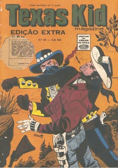 Revista Texas Kid Magazine Nº 65 Editora Rio Grafica !