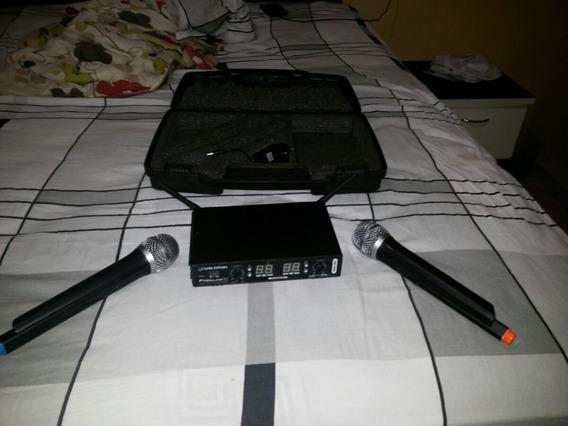 Microfone Sem Fio Frelink16 Em Perfeito Estado.
