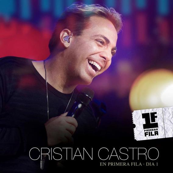 Cristian Castro Primera Fila Dia 1 Cd+dvd Open Music Sy