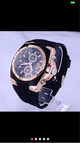 Relógio Analógico De Luxo V6 Quartzo.