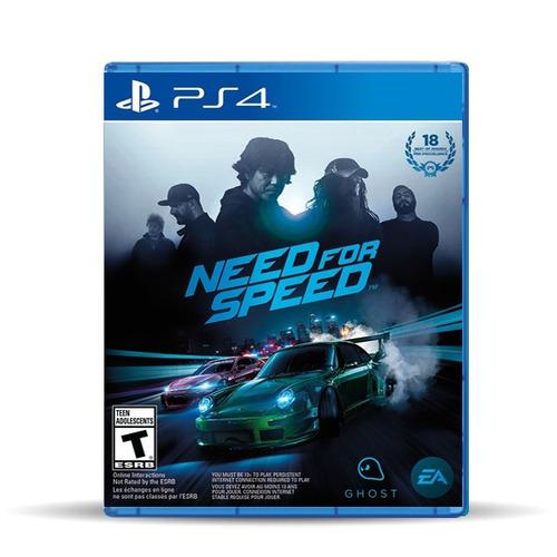 Need For Speed 2016 (nuevo) Ps4, Físico, Macrotec