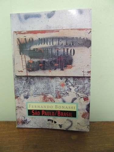 Livro São Paulo Brasil - Fernando Bonassi