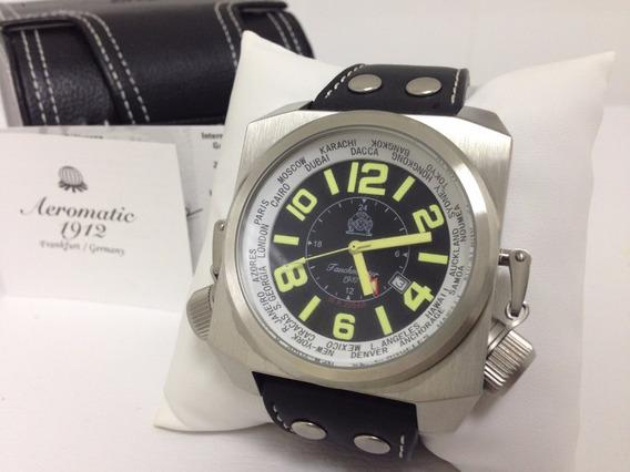 Relógio Militar Tauchmeister Xl Retro-kampftaucher Suíço Gmt