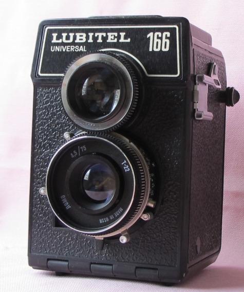 Lubitel 166 U Foto 6x6 Ou 4,5x6 Impecavel Parece Sem Uso