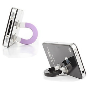 3 Suportes Stand Magnetic iPhone iPod Mp3 Galaxy Celulares