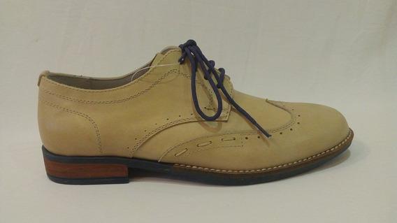 Zapato De Vestir Cuero Hombre Color Art 3116. Marca Messina