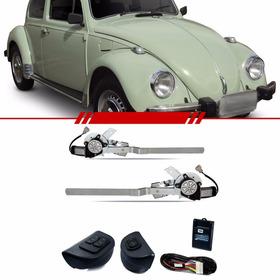 Kit Vidro Elétrico Dianteiro Sensorizado Volkswagen Fusca