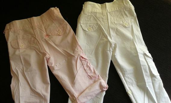 Pantalones De Tela Tipo Cargo Marca Voss