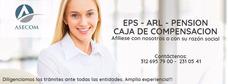 Afiliaciones Eps Arl Pension Medellín