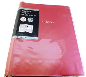 Album De Fotos Whsmith Slip-in 7x5 Polegadas 50 Folhas B2827