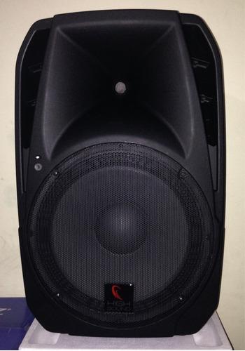 Bocina De15 Baffle Amplificado 1000w Bluetooth Usb Fm Radio