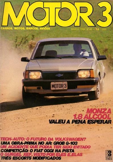 Motor 3 N°45 Monza Gurgel Xef Amazonas 1600 Escort Engerauto