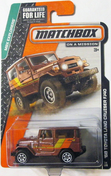 2014 Matchbox - 1968 Toyota Land Cruiser Fj40 - Escala 1/64