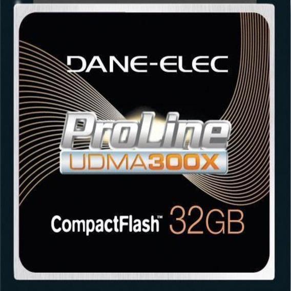 Cartão Compact Flash 32gb Dane-elex Proline 300x Udma De Alta Performance Dane-elec