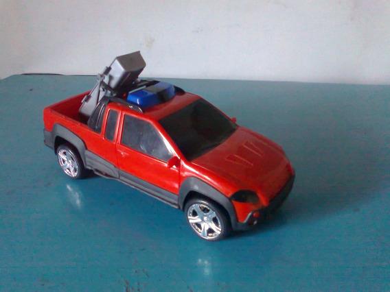 Miniatura Fiat Strada Carro De Resgate Aceito Troca