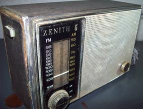 Radio Antigo Zenith 3 Faixas Modelo 820c (r) Funcionando