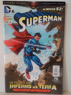 Hq-superman:dc Comics:n.13-os Novos 52!