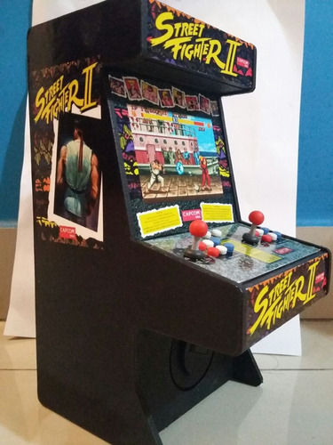 Arcade Street Figther 2 Alcancia