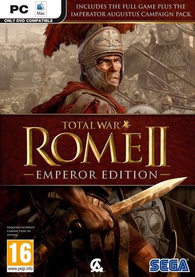 Total War Rome Ii - Emperor Edition ( Mídia Física ) Pc