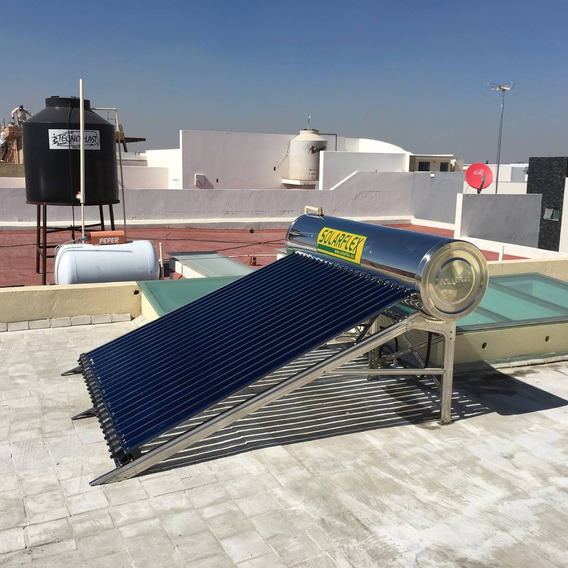 Calentador Solar De Agua Solarflex® 10 Tubos , 120 Litros