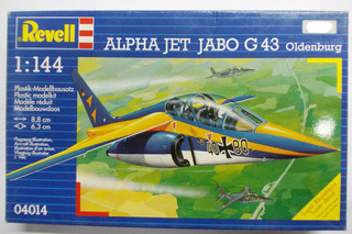 Alpha Jet Jabo G43 Escala 1/144 Revell 04014