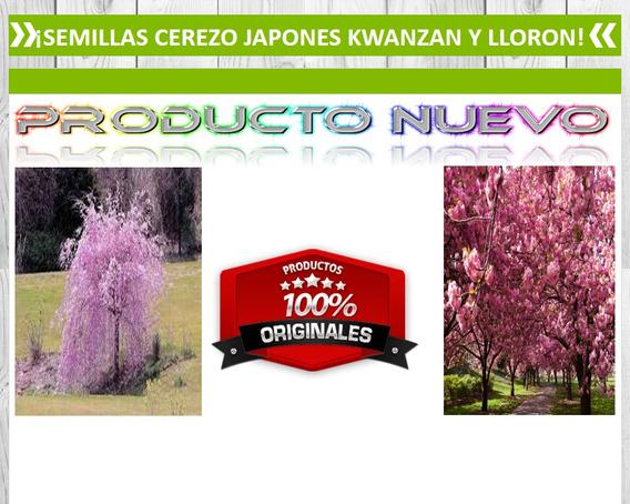 Cerezo Japones Kwanzan Y Lloron (50 Semillas)