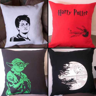 Almohadones Estampas Cine Series Lost Harry Potter Star Wars