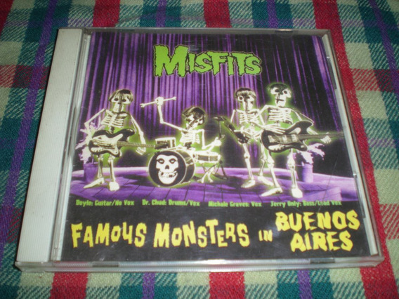 Misfits / Famous Monsters In Buenos Aires - Usa Bootleg H12
