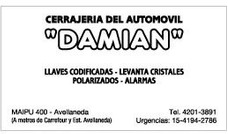 Cerrajería Del Automotor Damian - Urgencias- Avellaneda