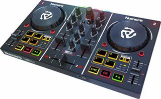 Numark Dj Party Mix Controlador Dj Usb 2 Canales Con Placa