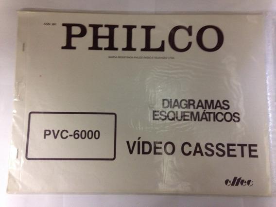 Diagrama Vídeo Cassete Philco - Cod.391