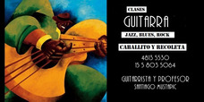 Clases Guitarra Jazz, Rock, Blues. Caballito Y Recoleta