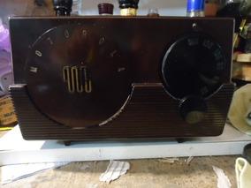 Radio Motorola 1952 Antigo O Mais Lindo E Inteiro Do Mercado