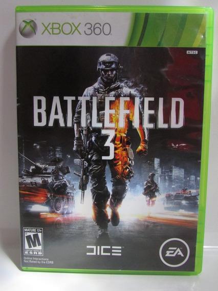 Battlefield 3 - Game Xbox 360 Original Americano Completo