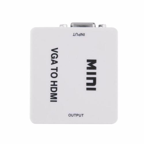 Conversor Adaptador Video Vga Con Audio A Hdmi Full Hd