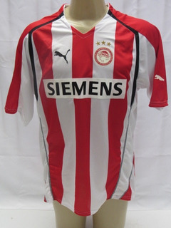 Camisa De Futebol Do Olympiacos Da Grecia #20 Dani Puma Bb
