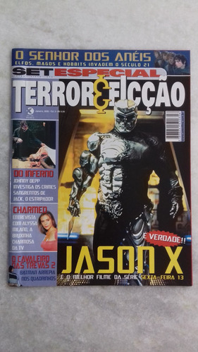 Revista Set Terror E Ficção Nº 03 -jan. 2002 -frete R$ 10,00