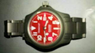 Reloj Dama Momentum Titanio Mod. Atlas Sumergible 100mts
