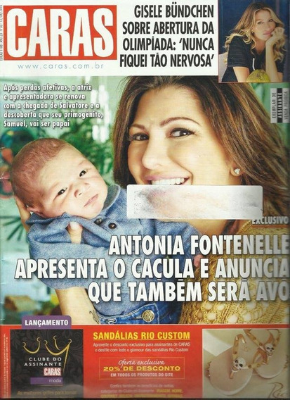 Caras 1188: Antonia Fontenelle / Paulo Ricardo / Brunet