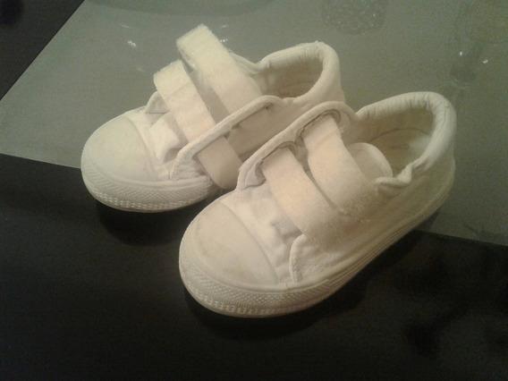 Zapatos Blancos Cheeky (con Cierre De Abrojos)